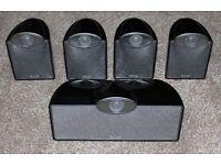 Tannoy SFX 5.0 Speakers Home Cinema Theatre Surround 100w
