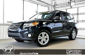 2012 Hyundai Santa Fe Limited + CUIR + TOIT + A/C + BLUETOOTH