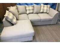 Corner sofa with chaise for Sale in Scotland | Sofas