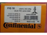 """Continental Motorbike Inner Tub fits 13 16"""" sizes all in listing includs MT90X16"""