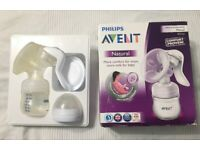 Avent manual breast pump in good working order