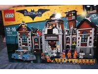 BNISB LEGO 70912 Arkham Asylum, £115 sealed or £80 with no Minifigs.