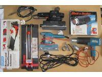 DIY Power Tools Job Lot & Drill Press Stand