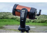 Celestron NexStar 8se with full eyepiece kit.