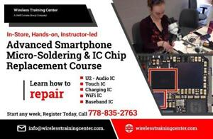 WIRELESS TRAINING CENTER | CELL PHONE, IC, IPAD, MICRO SOLDERING REPAIR TRAINING COURSE LEVEL 1 - 4 IN MONTREAL