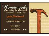 Homewood's Carpentry & Electrical