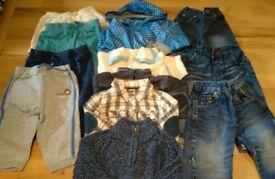 Baby boy clothes 9-12mth