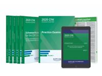 2020 CFA Level 1-2-3 Curriculum, Schweser QBank, Schweser Exams Secret Sauce, Schweser Study Notes