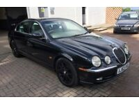 BARGAIN LUXURY RUNABOUT !! Jaguar S type 4.2 V8 auto saloon , mot Nov, Blk/Crm, Powerful and smooth
