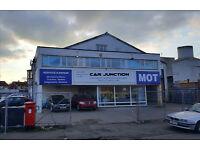 Car Business/Showroom For Sale. Potential MOT/Car Wash compound. Prime Location
