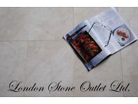 Crema Nova Polished Marble Tiles 61cm x 30.5cm x 1.3cm (100% PURE MARBLE)