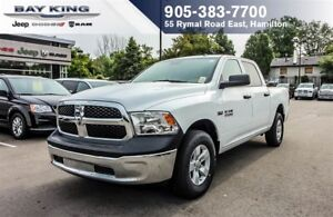 2017 Ram 1500 SXT CREW CAB 4X4, PWR WINDOWS, HEMI V8