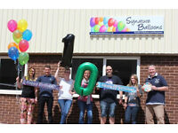 Enthusiastic Customer Sales Advisor For a Growing Online Balloon and Party Business.
