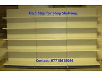 Top Quality Tego/Eden Retail Shop Wall Shelving 1.4m High ONLY £60