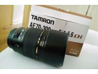 Tamron Lens Canon Fit (70-300mm)