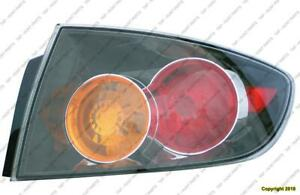 Tail Light Passenger Side Sedan Sport High Quality Mazda 3 2004-2006