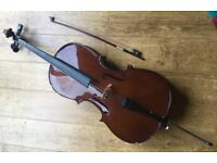 Cello Stentor Student 11 1/4 with Bow and Case