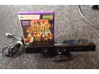 Xbox 360 Kinect with Kinect Adventures