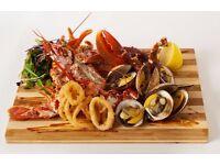 Experienced Chef de Partie sought for Seafood Restaurant in Stockbridge