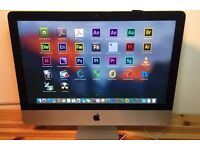 "Apple iMac 21.5"" Core i3, 12GB RAM!!!, 500GB HD CS6, Final Cut, Logic Pro"