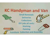Handyman and Van