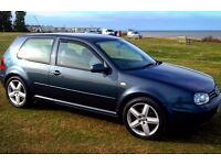 golf turbo 150bhp Rare dolphin grey (swap px )
