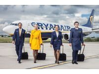 Ryanair Cabin Crew Positions - No Experience Required