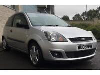 Ford Fiesta Zetec 3dr 2006 1242cc (1.2) petrol manual Silver. **CHEAP RELIABLE LOW MILEAGE**