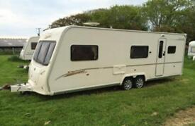 Bailey senator Carolina 6 berth twin axel 2007 motor mover