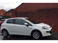 *PERFECT* Fiat Punto Evo white car 1.2 (start/stop)Bluetooth with MOT *CHEAP INSURANCE/TAX*