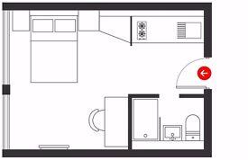 Studio apartment to rent £115 per week! Student needed!