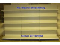 Top Quality Tego/Eden Retail Shop Wall Shelving 1.8m High ONLY £80