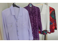 Assorted blouses size 16