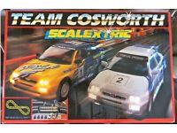 Vintage Scalextric C814 Team Escort Cosworth set