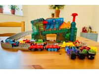 Thomas & Friends Take-n-Play Train Maker with added characters