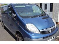 No Vat ...2008 Vauxhall Vivaro 2700 cdti swb 8 months mot...........No VAT