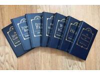 7 VINTAGE PARRAGON CHILDREN'S HARD BACK CLASSIC STORY BOOKS (1993)