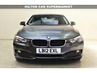 BMW 3 SERIES 2.0 320D EFFICIENTDYNAMICS 4d AUTO 161 BHP + TOP SPEC WITH ALL THE EXTRAS (grey) 2012