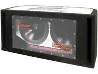 New - Lanzar HBP212 1200W Dual 12 inch Bandpass Subwoofer System