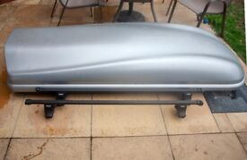 Thule Roof Top Box with Roof Bars Large