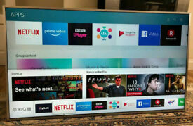 49in Samsung 4K HDR UHD Smart LED TV Wi-Fi Freeview HD & FreeSat HD Warranty [NO STAND]