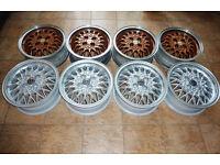 15'' Genuine Volswagen alloys made by BBS, Fitment 4x100