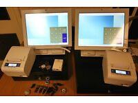 EPOS TILL BLEEP TS-915 x 2 X Complete Sets