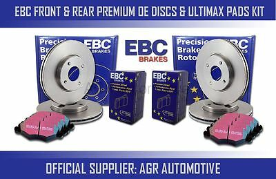 EBC FRONT  REAR DISCS AND PADS FOR VAUXHALL ASTRA 18 16V 1993 95