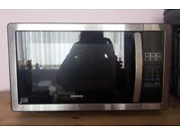 Must Go | Used Kenwood Black & Silver Microwave K25MSS11 | 900W | 25 Litres | Sheffield