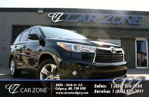 2014 Toyota Highlander Limited, One Owner, AWD, 7 Pass