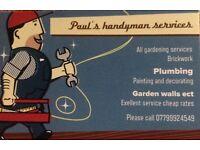 Handyman services flintshire
