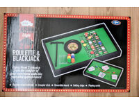 Casino Roulette & Blackjack Game - New and Boxed