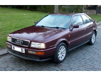1996 AUDI COUPE 2.6 SE MANUAL