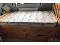 Short Child's Bed Reduced £20 Age 2-Teens